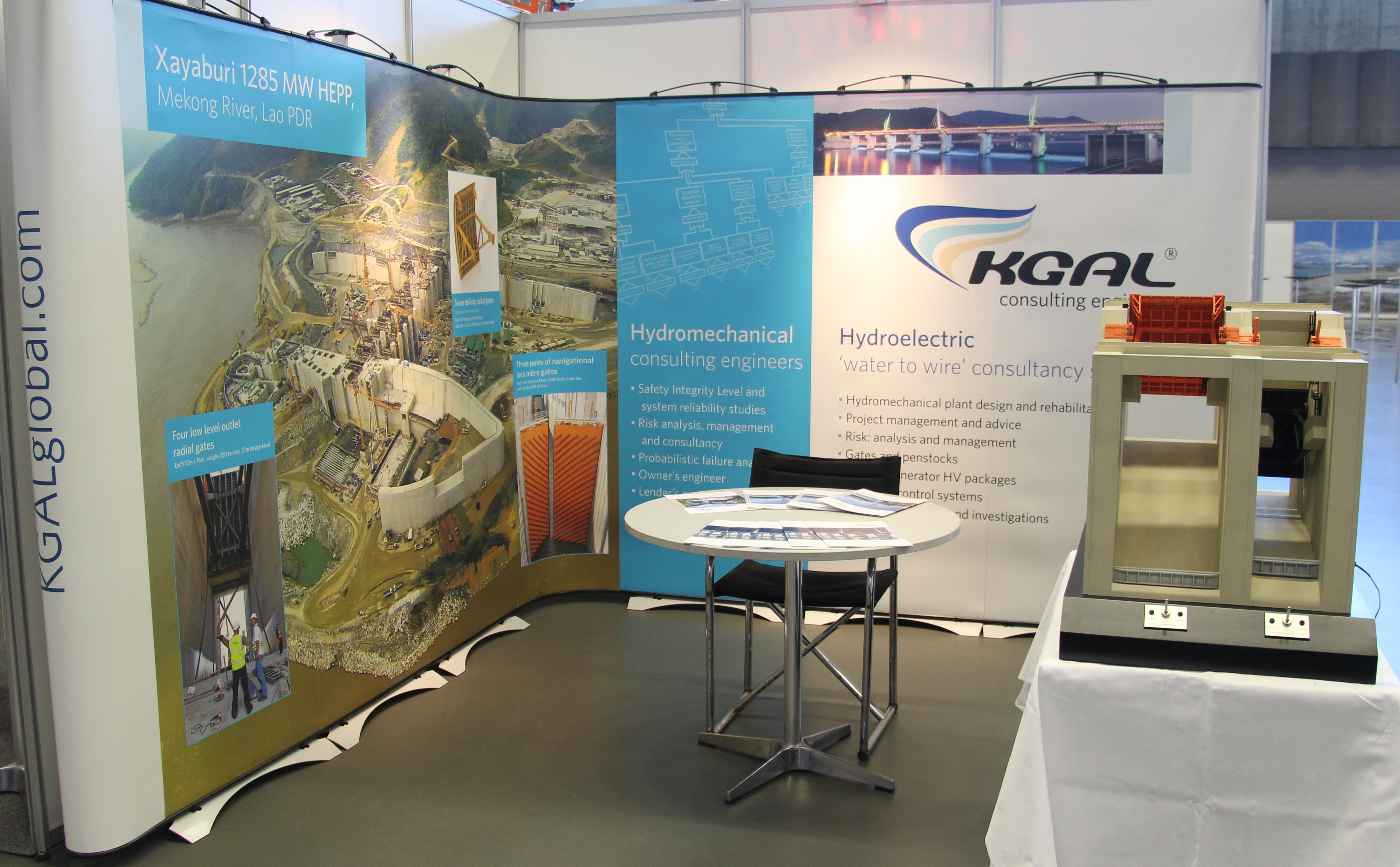 ICOLD exhibition stand